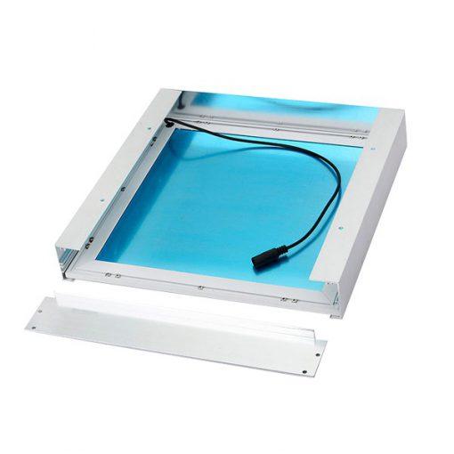 KIT De Superficie Para Panel 60x60cm Color Blanco