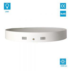 Plafon De LED De Superficie Redondo 18W Blanco Cálido 3000K
